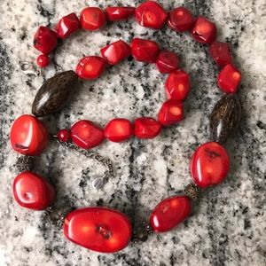 Studio Barse Red Coral Necklace